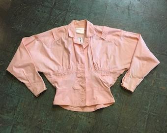 Vintage Extra Sportswear cropped 80s 90s jacket // size xs