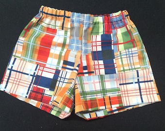 Baby Girl or Baby Boy Toddler Shorts ,  Handmade Shorts size 12 months - 4t
