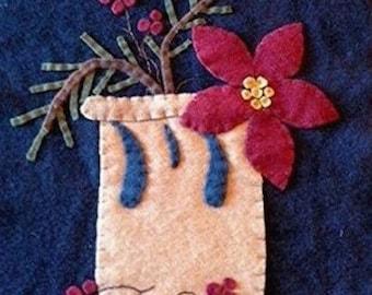 WinterGlaze Wool Applique