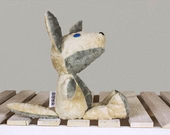 Woodland Stuffed Animals, Stuffed Wolf, Wolf toy, Plush Wolf, Mascot Wolf, Cuddly toy Wolf, Handmade plush toy, soft toy Wolf | Nuva