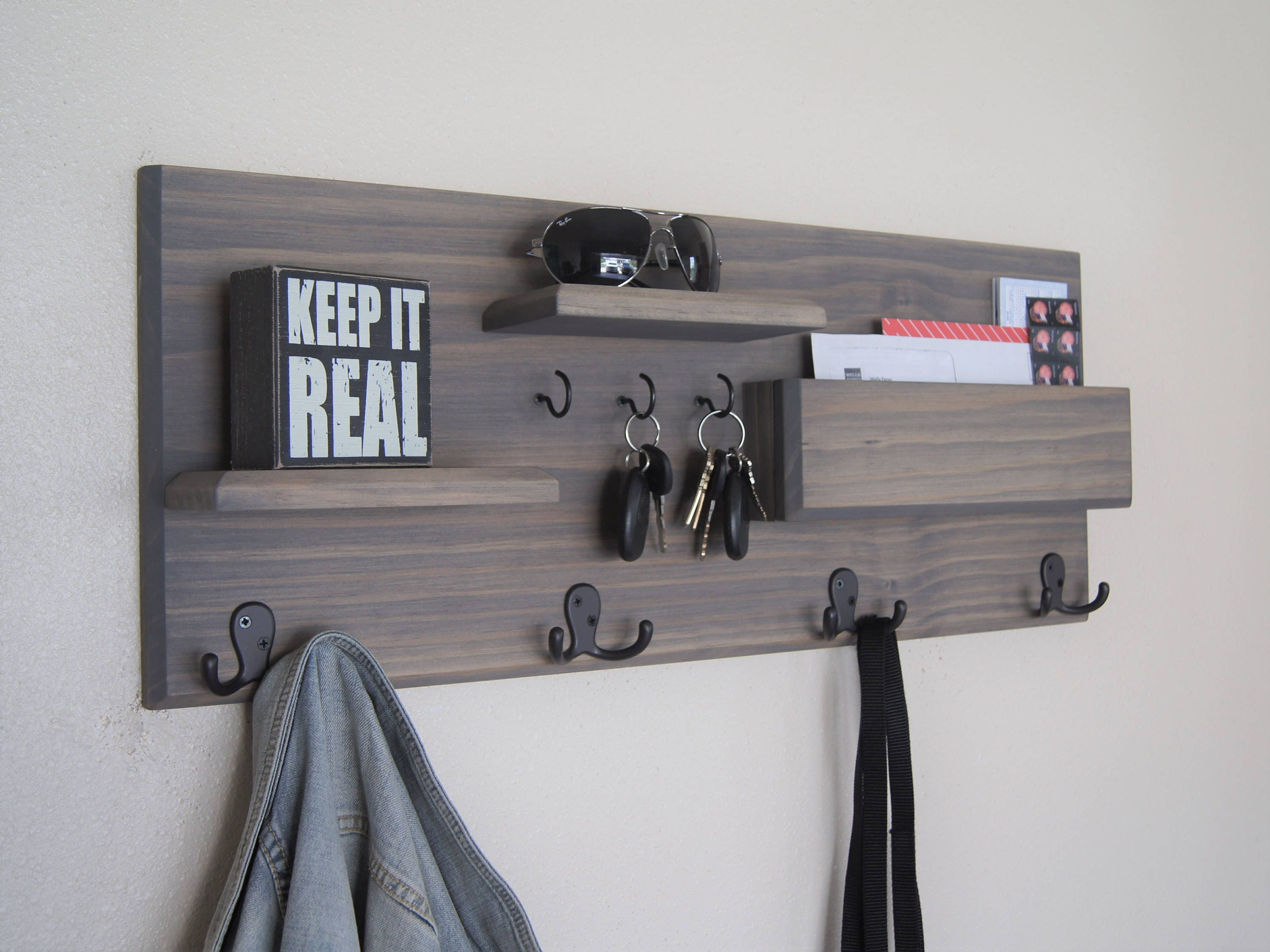 pdx wall key rack shelf mounted hanging wayfair compartment furniture coat homestar