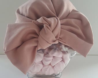 Blush bow cross