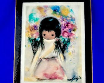 Flower Girl by Ted DeGrazia
