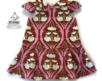 Toddler Dress Size 12-18 months - Party Dress - Church Dress - Modern Toddler Clothes- Girls Summer Dress - Toddler Clothing - READY TO SHIP