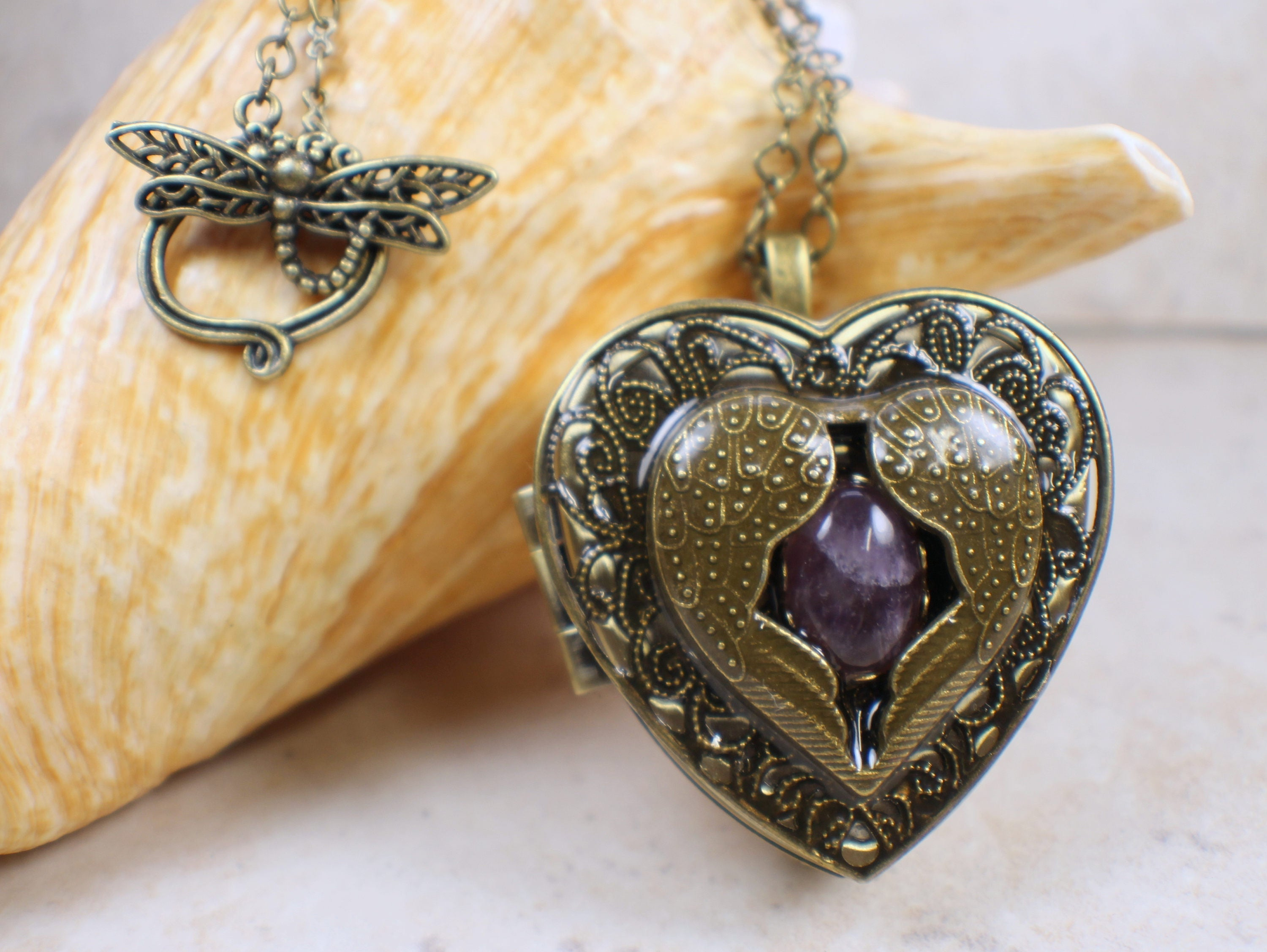 Angel wing music box locket music box locket music box description heart music box pendant aloadofball Gallery
