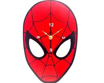 Spider-Man Clock