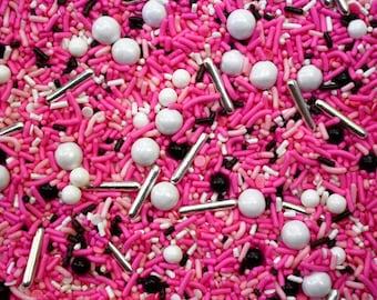 Edible Sprinkles - Pink Lady Sprinkle Mix