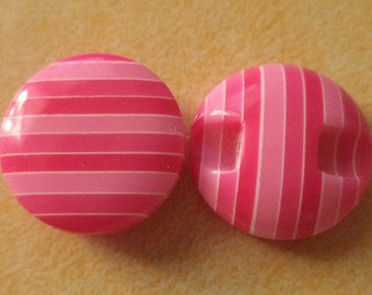 12 buttons 15mm pink button pink (2858)