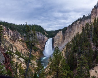 Grand Canyon of the Yellowstone National Park photograph