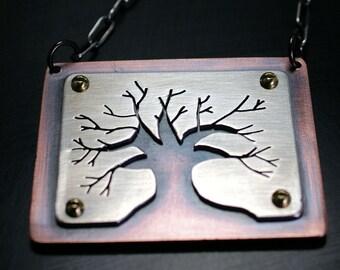 Survivor Tree necklace
