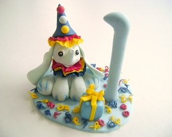 Birthday Cake Topper Elephant Cake Decor Kids Birthday Cake Topper