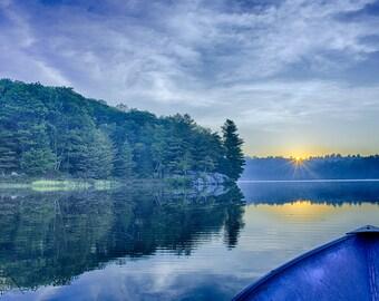 Devine Lake at Dawn Fine Art Print