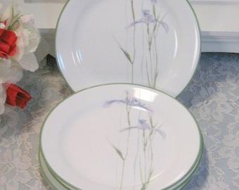 Vintage Corelle Corning Ware Corningware Shadow Iris Salad or Lunch Plate Set of Four 1980s Mid Century Dinnerware Kitchen Glass & Vintage corning ware   Etsy