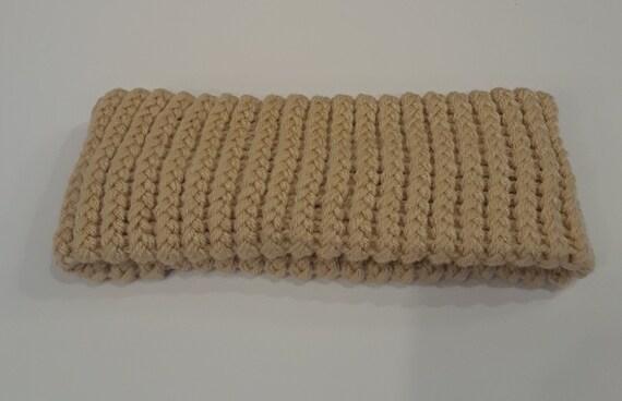 Ear Warmer Loom Knit Buff
