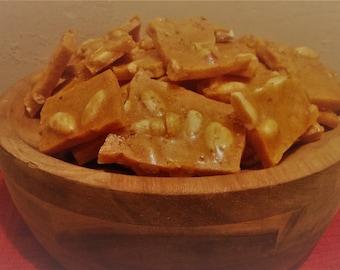 Chili Peanut Honey Brittle