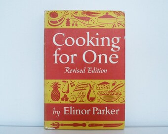 Vintage cookbook Cooking for One - (1960)