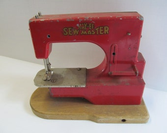 Germany Kay an EE Sew Master Germany US Zone Childs Sewing Machine Childrens Toy Sewing Machine KayanEE Sewing Machine Germany US Zone