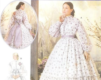 Simplicity 5442 Misses' Civil War Costume Pattern, 14-20