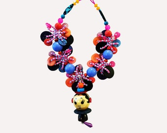 Doll Face Necklace by Lori Kirsch