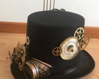 Steampunk Hat Barometer