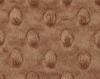 Minky fabric, fabric minkee velvet taupe coupon
