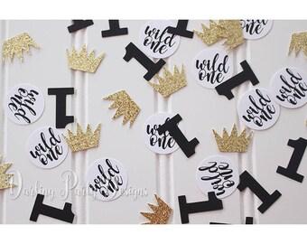 Wild One Confetti, Wild One Party, Wild One Birthday, Decor, Confetti, 1st Birthday Confetti, 100 Pieces