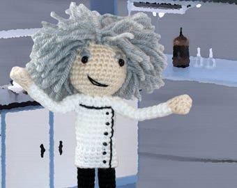 Crochet Pattern ~ Mad Scientist ~ Crochet Pattern