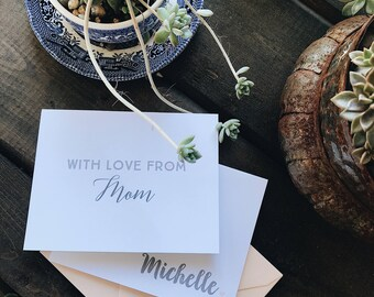 Mother's Day Stationery Set - 5 designs & 10 notecards