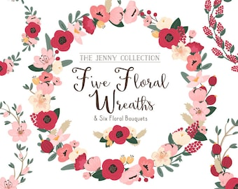 Rose Garden Floral Wreaths & Bouquets - Rose Garden Flowers, Rose Garden Wreaths, Flower Wreaths, Floral Frames, Wedding Wreaths