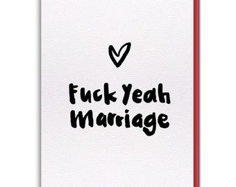 Card - F*#k Yeah Marriage!