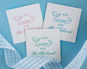 With Love Tags (3x3 inch)