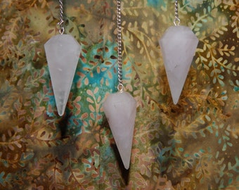 Crystal Pendulum with Protective Pouch