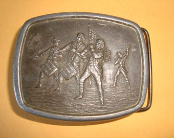 American Revolution commenmorative belt buckle