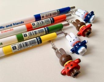 M&G Miffy and Melanie bunnies rabbits charm 0.5mm ballpoint pen sets