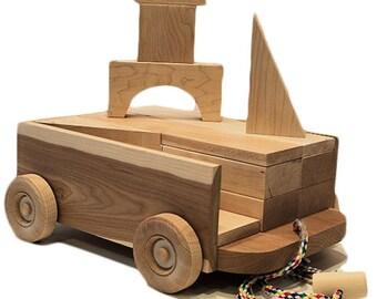 Maple Blocks & Cherry Wagon