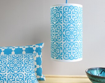Moroccan Tile Lampshade Pendant
