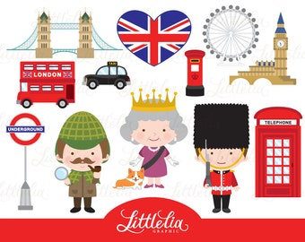 London clipart - British London clipart - British clipart - 15078