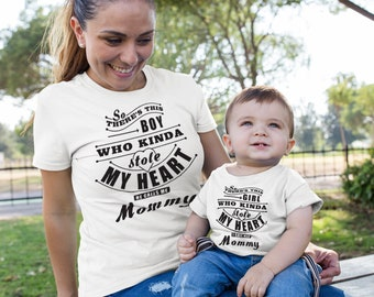 34ebab0b025 Mother Son Matching Outfit Mom Son Outfit Mommy And Baby Matching Set  Motheru0027s Day Gift Sc 1 St Etsy