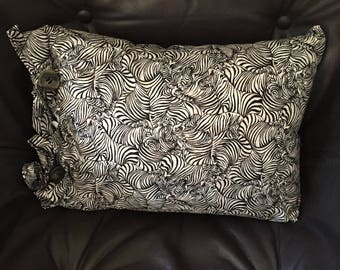 "Zebra print 12"" x 16"" Pillow/Insert"