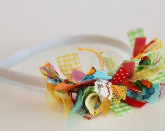 Beautiful Handmade Cotton Ties Headband