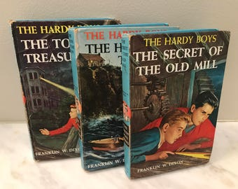 The Hardy Boys 1959 edition, Collection of Three