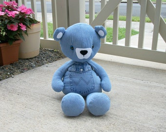 Memory Bear - Keepsake Plush - Made to Order