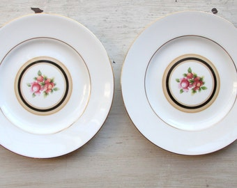Wedgwood Clio Bone China Replacement Bread Butter Plates - Made in England, Wedge Wood, Floral Pattern, Vintage, Gorgeous, Elegant(WTH-1392)