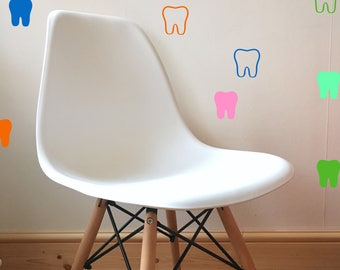 Tooth Wall Decal Sticker -  in a variety of colours
