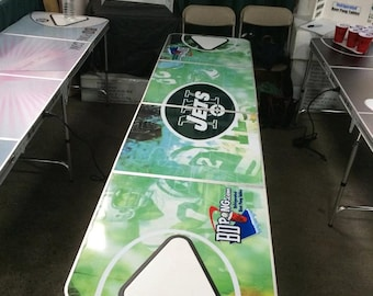 Beer Pong Table Etsy - Custom vinyl decals for beer pong tables