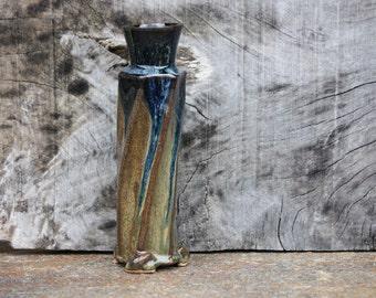 Ceramic bud Vase, Stoneware Vase,