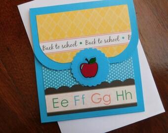 Teacher Appreciation - Gift Card Holder - Teacher Gift Card - Money Teacher Card -  Teacher Card - Gift Card Teacher Card - Gift Card