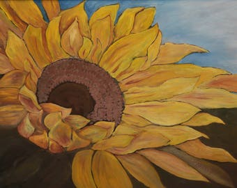"Sunflower Greeting Cards 4x6"" with envelopes"