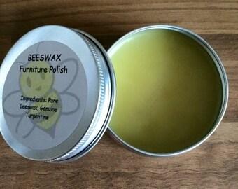 Natural beeswax furniture polish