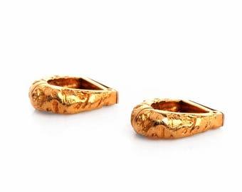 18k Yellow Gold Cufflinks